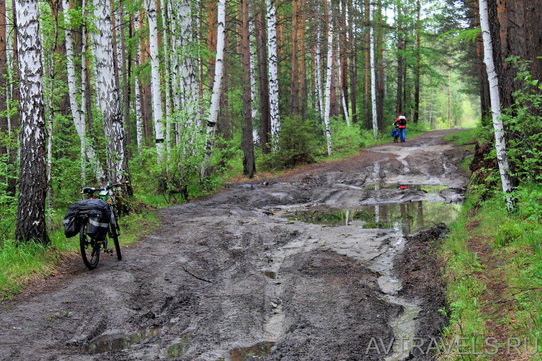 дорога на гору Соколиный камень