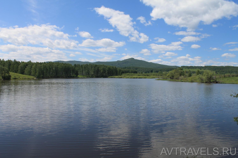водохранилище река Уй