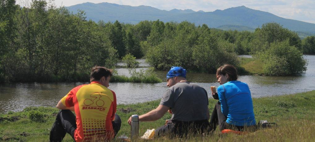 Поездка на хребет Нурали и гору Ауштау  с Курганским велоклубом 10-12.06.2017