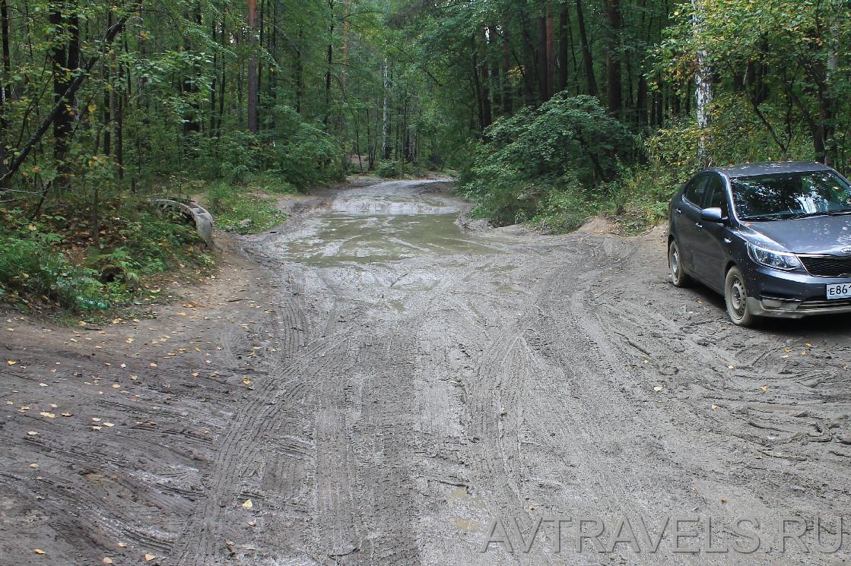 дорога на Чусовское озеро