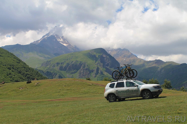 пикник на горах Грузии