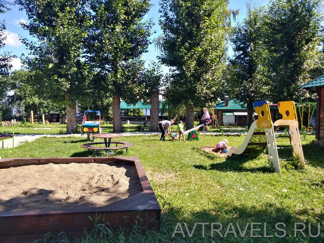 детская площадка кемпинг парк