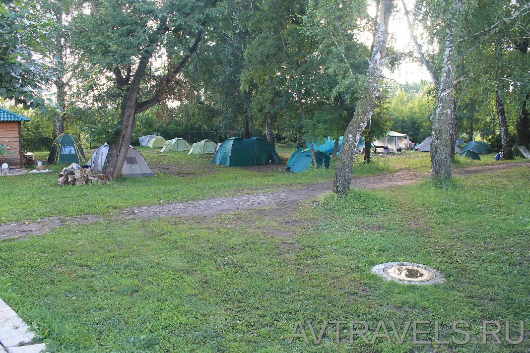 палаточная поляна кемпинг парк