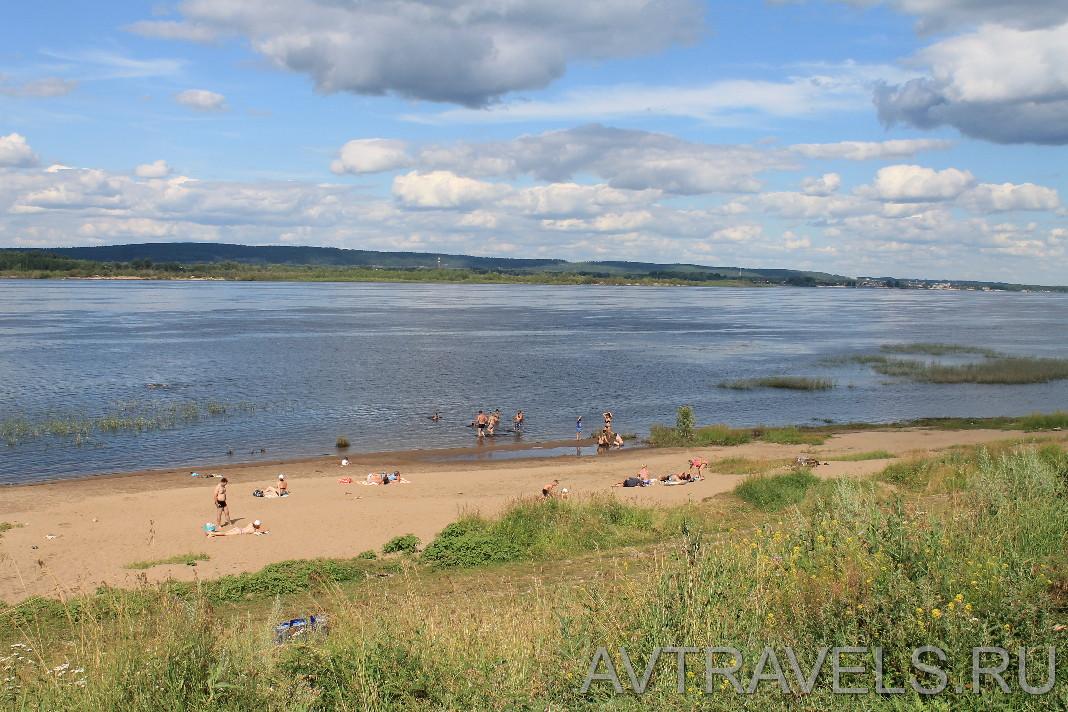 пляж Ширяево