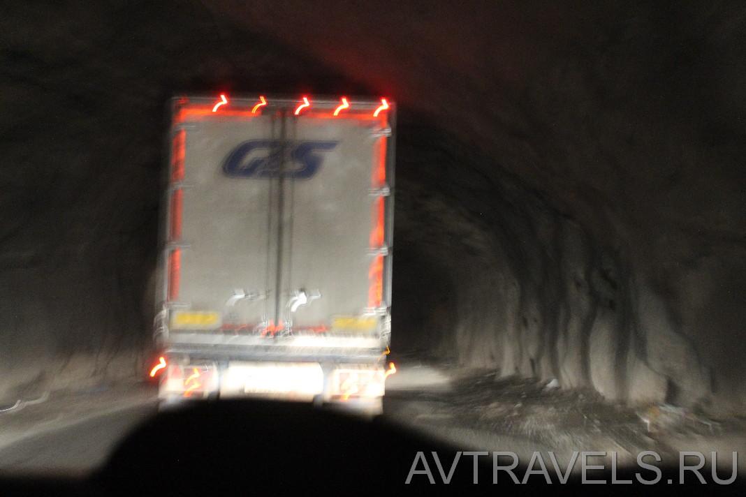 тоннель Дарьяльского ущелья