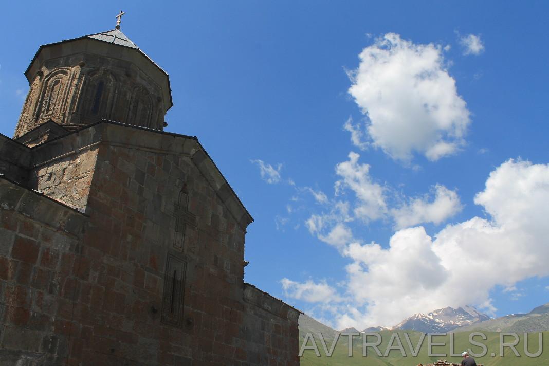 церковь святой троицы Гергети