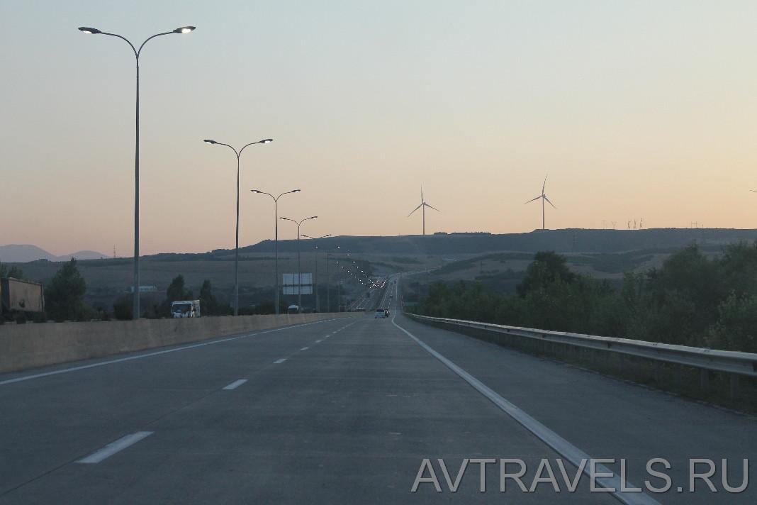 дорога Тбилиси Батуми