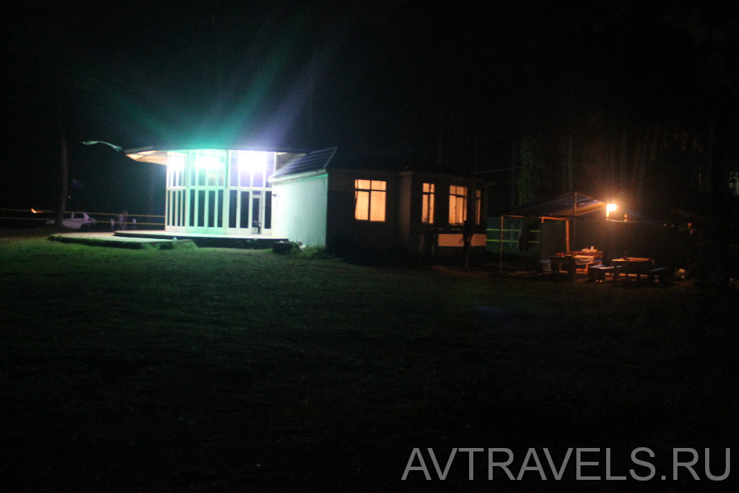 палаточный лагерь Geocamp Грузия