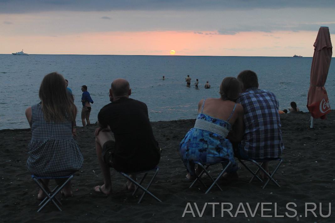 пляж Уреки Магнетити