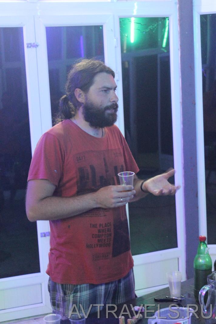 дегустация вина палаточный кемпинг Грузия