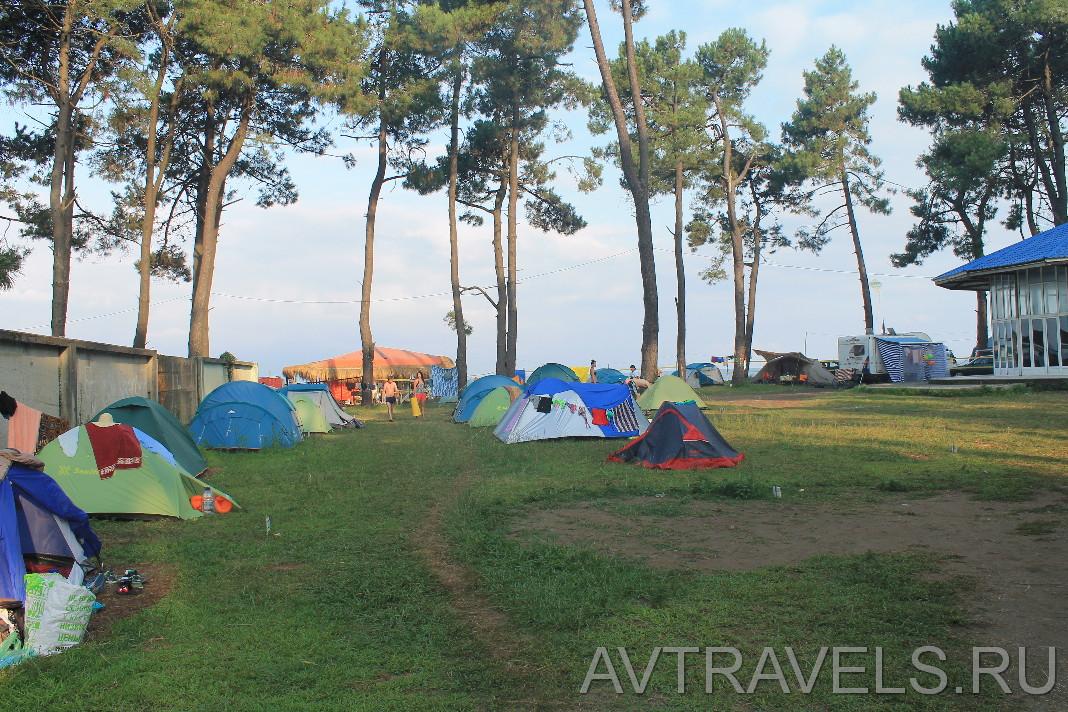 Geocamp палаточный кемпинг в Грузии