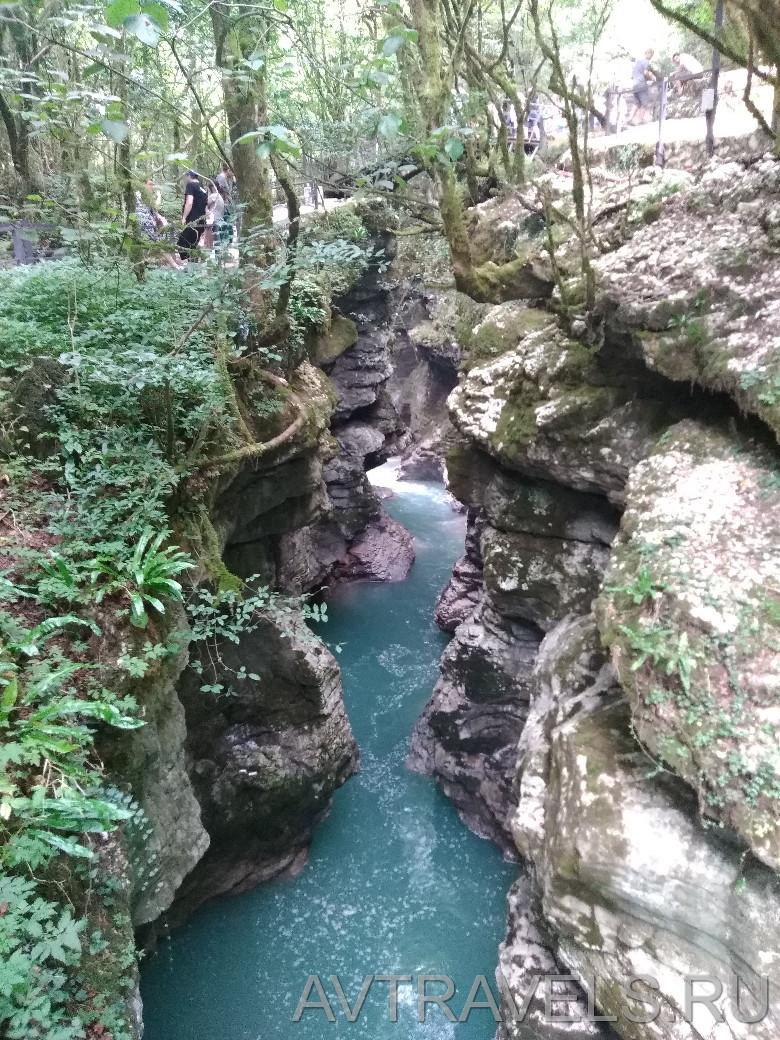 каньон мартвили Грузия