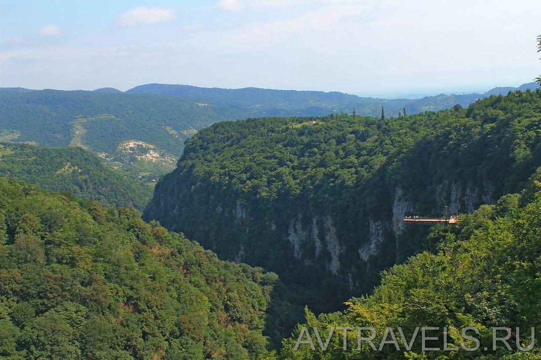каньон Окаце Грузия