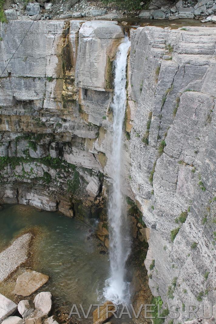 водопад Кинчха Грузия
