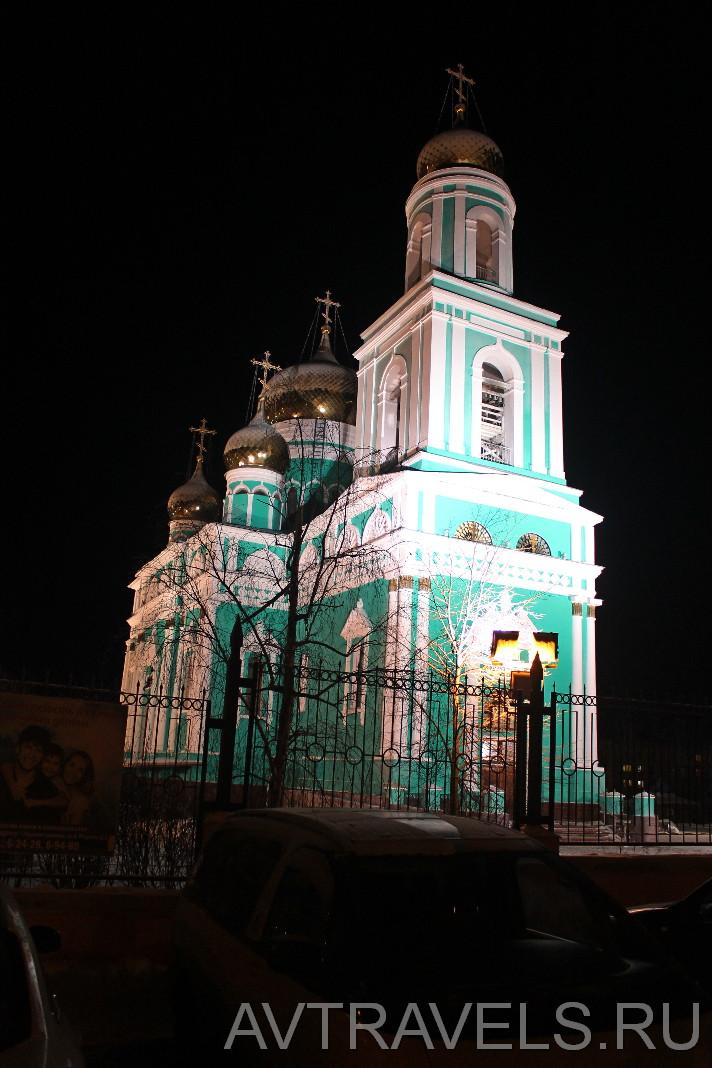 Храм Максима Исповедника Краснотурьинск