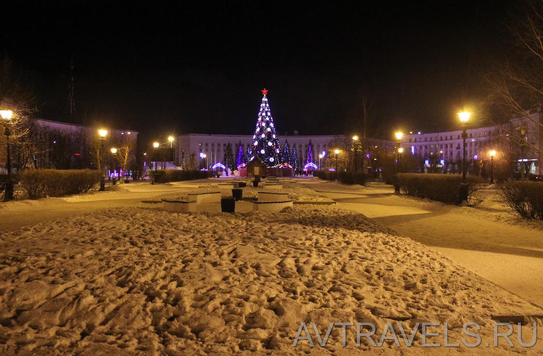 Краснотурьинск центральная площадь