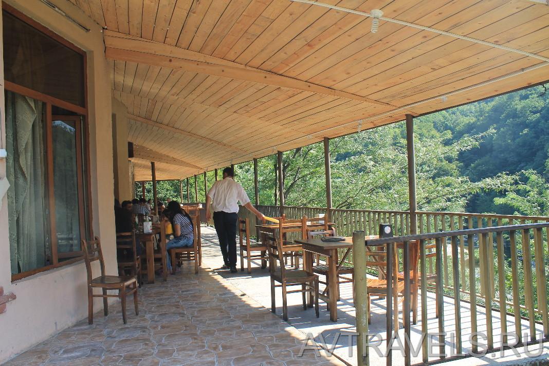ресторан ZGAPARI Грузия
