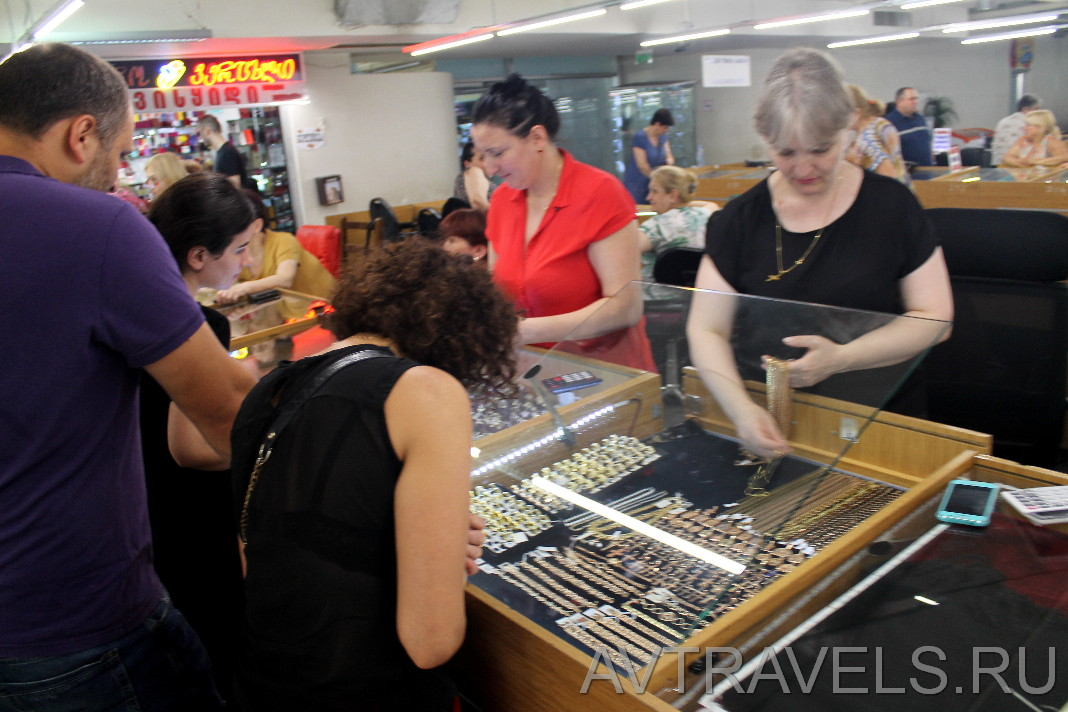 рынок золота Тбилиси