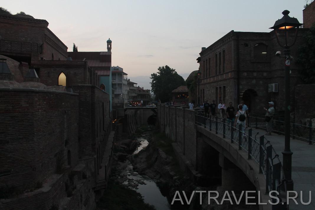 район серных бань Тбилиси