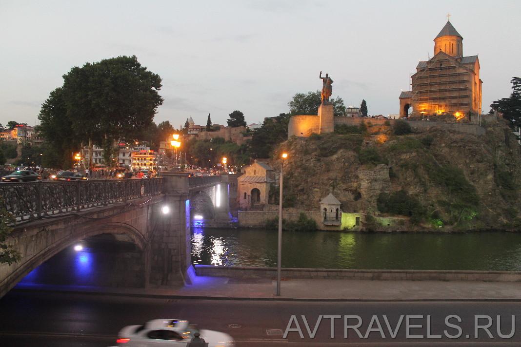 мост Метехи Тбилиси