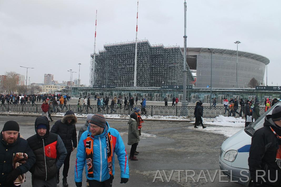 екатеринбург арена фото