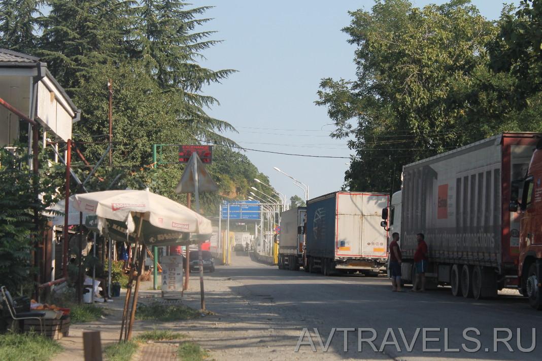 граница грузии и азербайджана