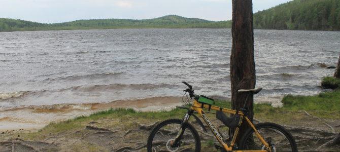 Велопрогулка до озера Песчаное 06.06.2018