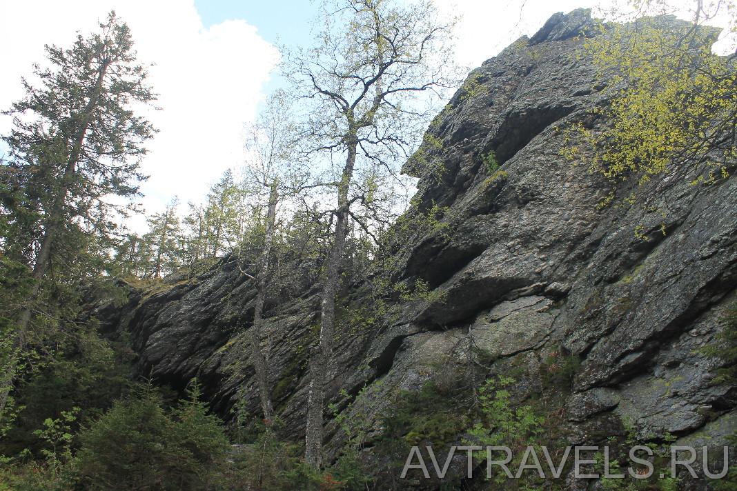 гора шунут скалы