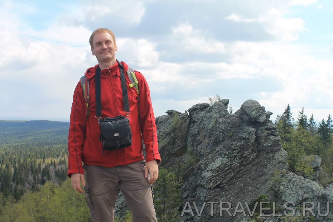 Глеб Кудрявцев на горе Шунут