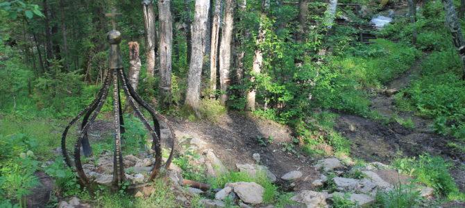 Два однодневных похода на источник Платониды и гору Шунут (лето 2018).