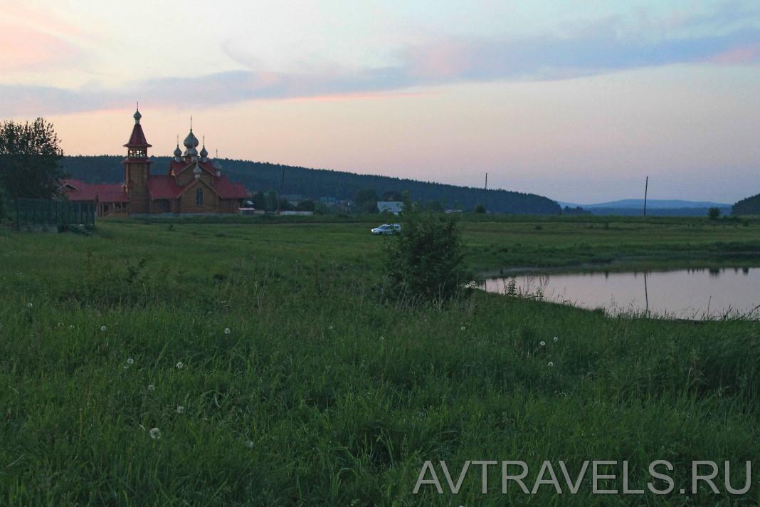 Мариинск Храм Николая Чудотворца